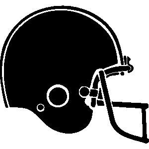 300x300 Free Football Helmet Clip Art Clipart