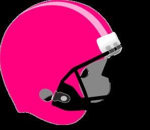 298x258 Pink Football Helmet Clip Art Clipartfox
