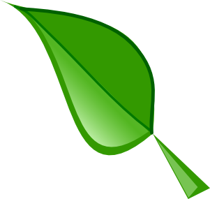 301x285 Green Leaf Clip Art