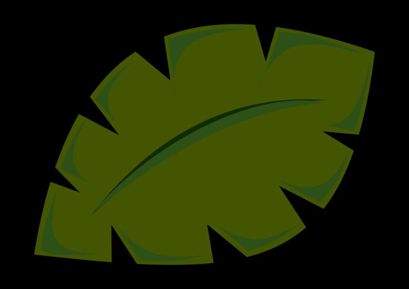 800x566 Jungle Clipart Big Leaf