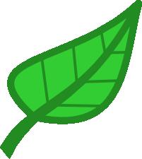 201x225 Leaf Clip Art