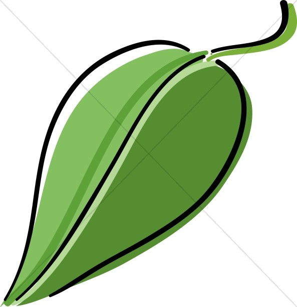 593x612 Simple Leaves Blowing in wind Leaf Clipart