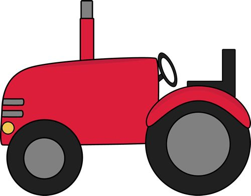 Green Tractor Clipart