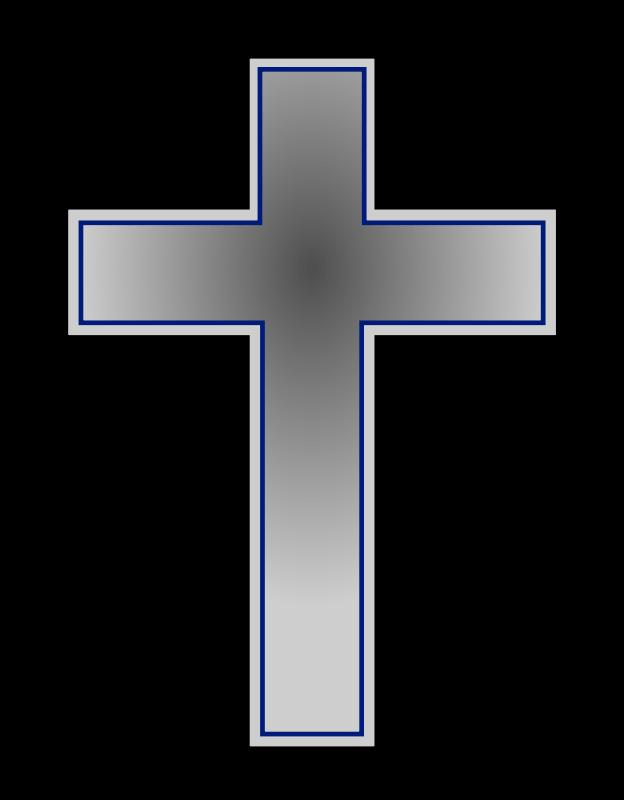 624x800 Gray Cross Cliparts