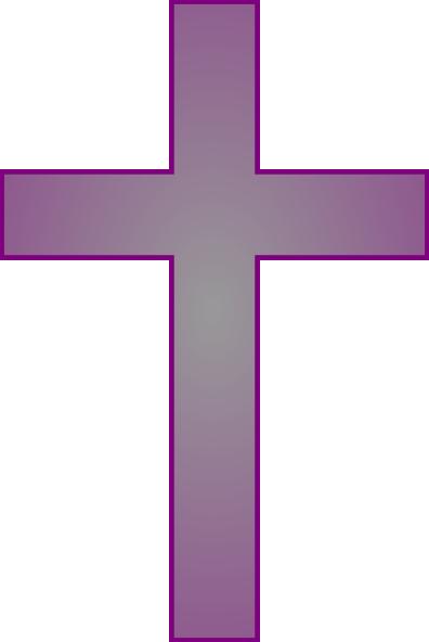 396x592 Grey Cross Clip Art