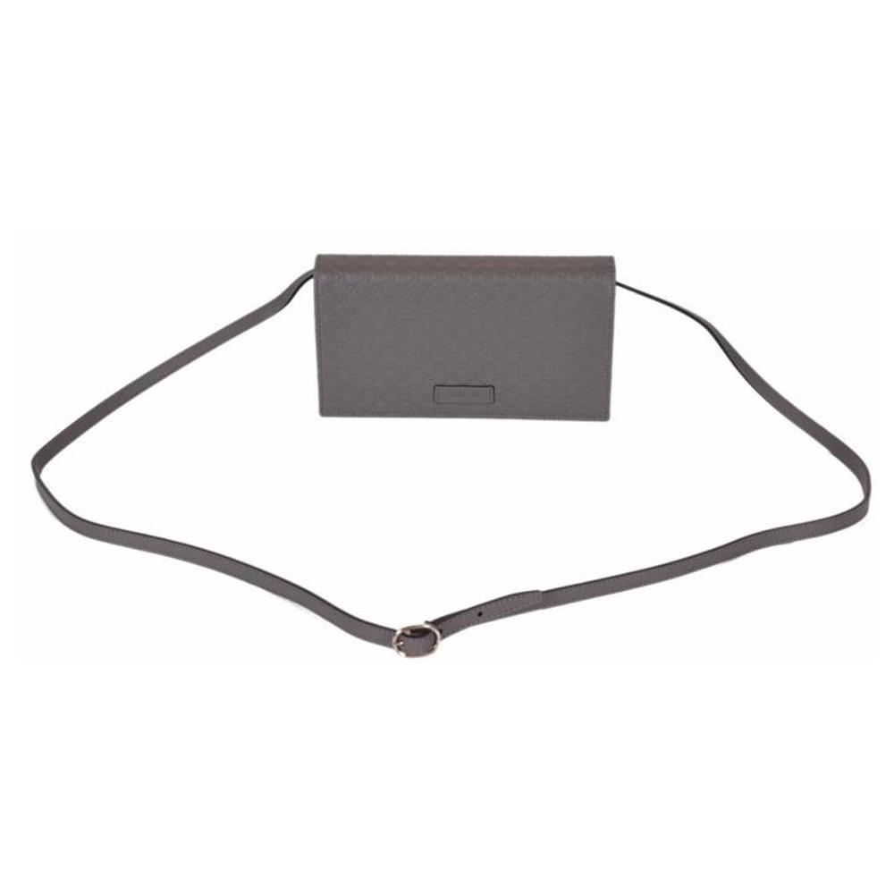 1000x1000 Gucci Grey Leather Crossbody Bag
