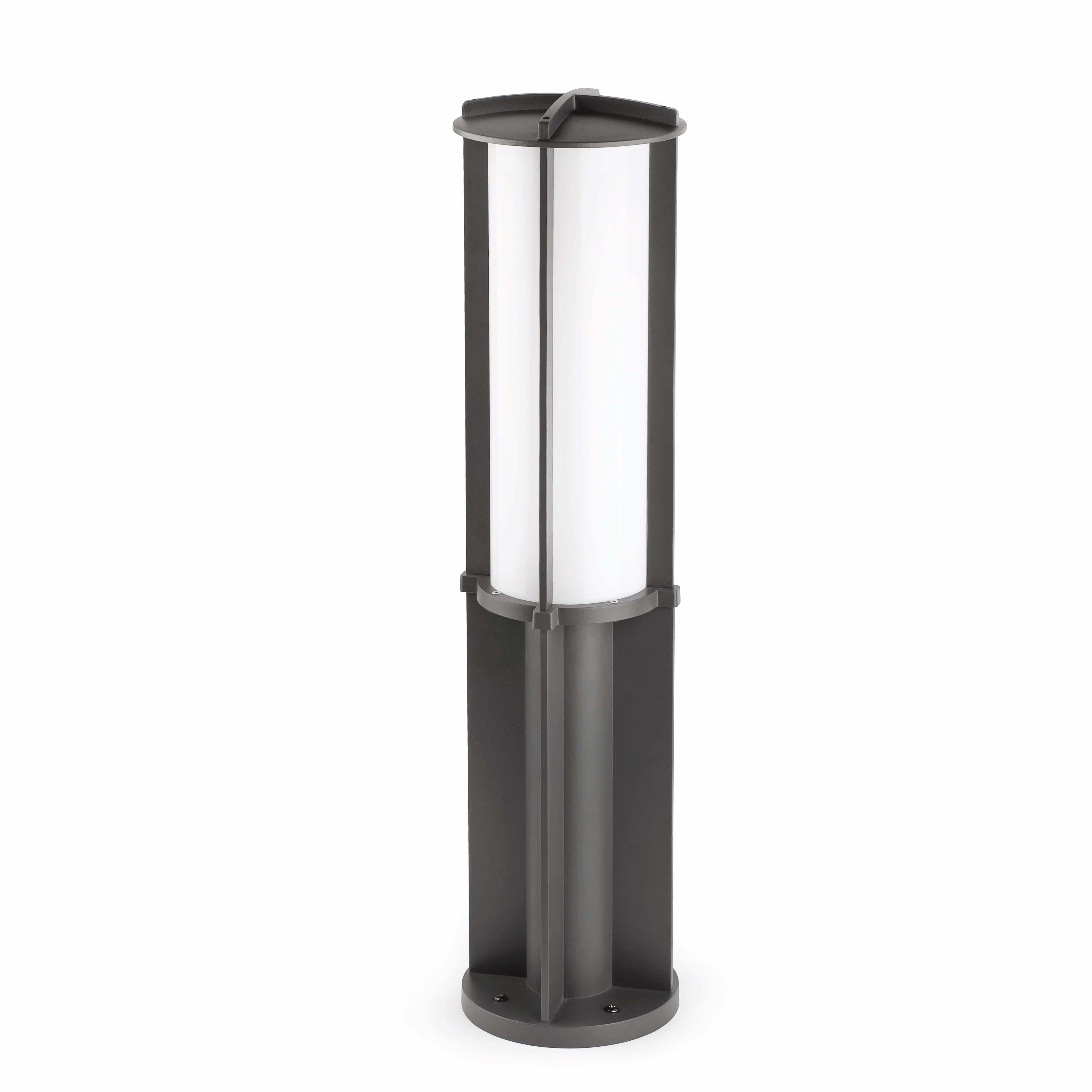 4065x4065 Cross 1 Led Dark Grey Beacon Lamp Faro