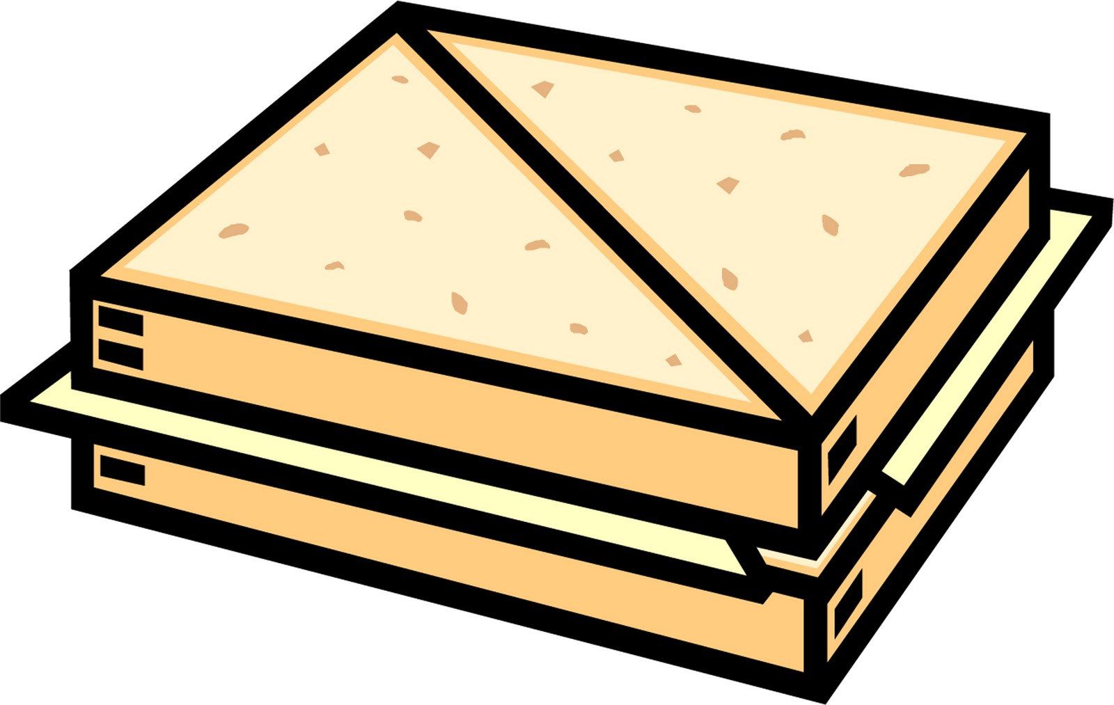 1600x1013 Grilled Cheese Clipart Free Download Clip Art 2