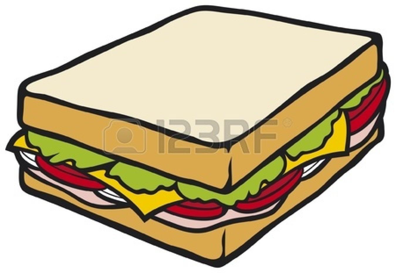 1350x933 Sandwich Clipart Ham And Cheese