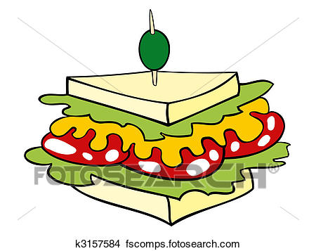 450x357 Toasted Sandwich Clipart Royalty Free. 2,119 Toasted Sandwich Clip