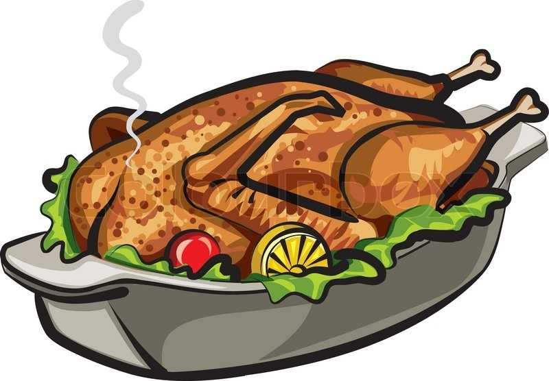 800x556 Image Of Bbq Chicken Clipart