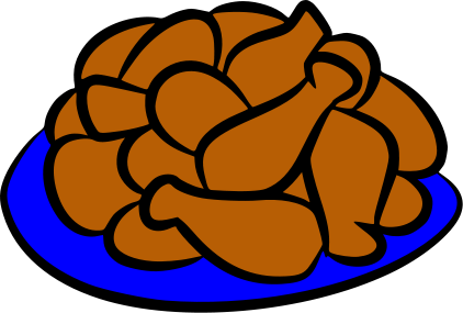 422x285 Chicken Wings Clipart Many Interesting Cliparts