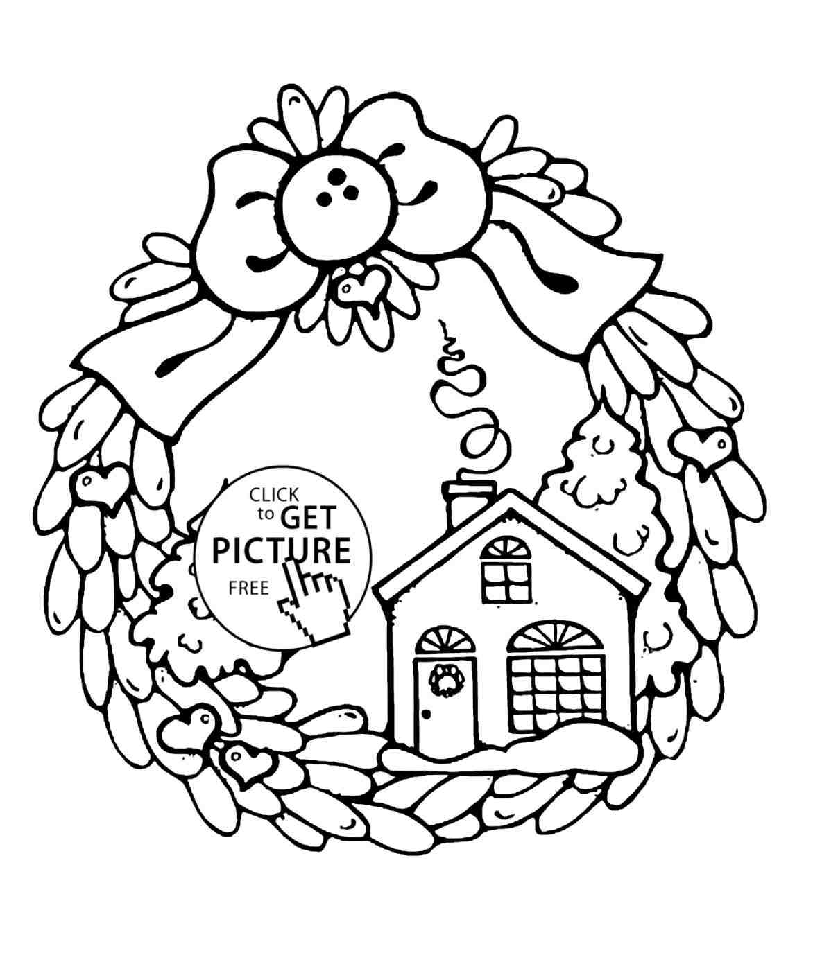 1172x1375 Christmas Drawings For Kids Tree Coloring Pages Womanmatecom