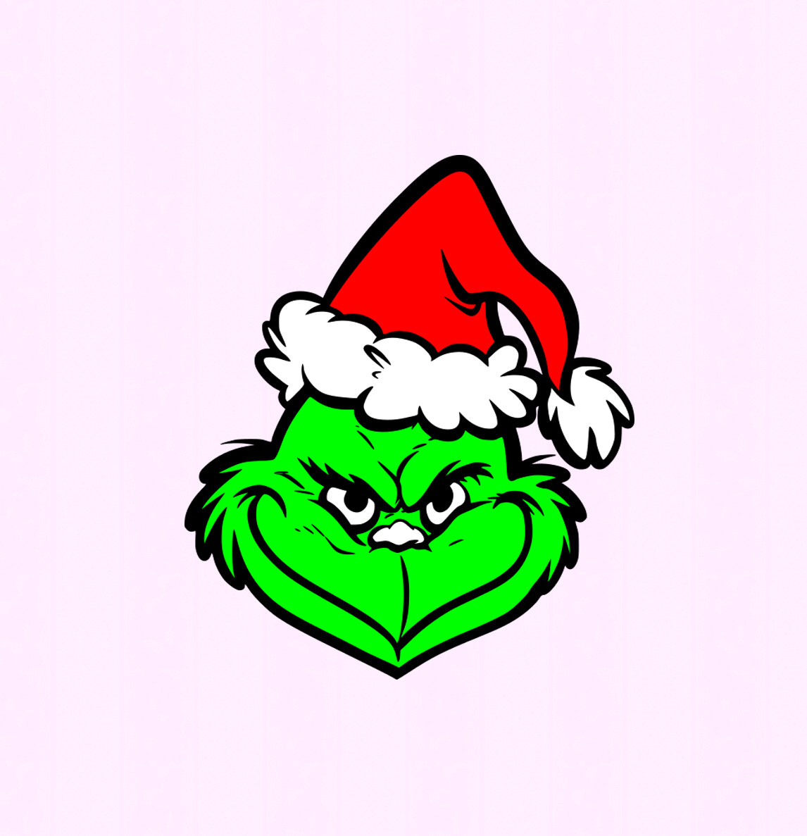 1146x1187 Grinch Svg,eps Png Dxf,digital Download Files For Silhouette