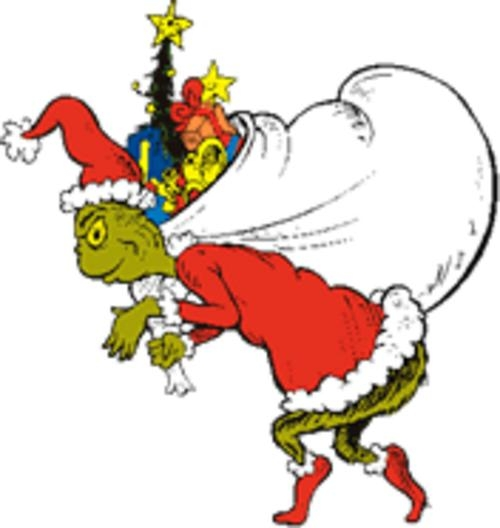 500x528 Grinch Who Stole Christmas Clip Art