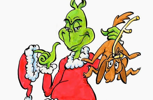 590x387 Clipart Of The Grinch