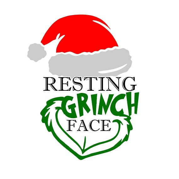 570x570 50% Off Resting Grinch Face Svg File Christmas Svg The Svg'S