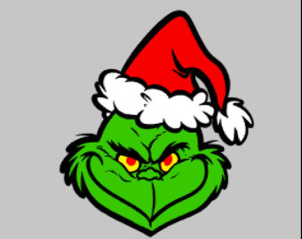 340x270 Grinch Face Clipart
