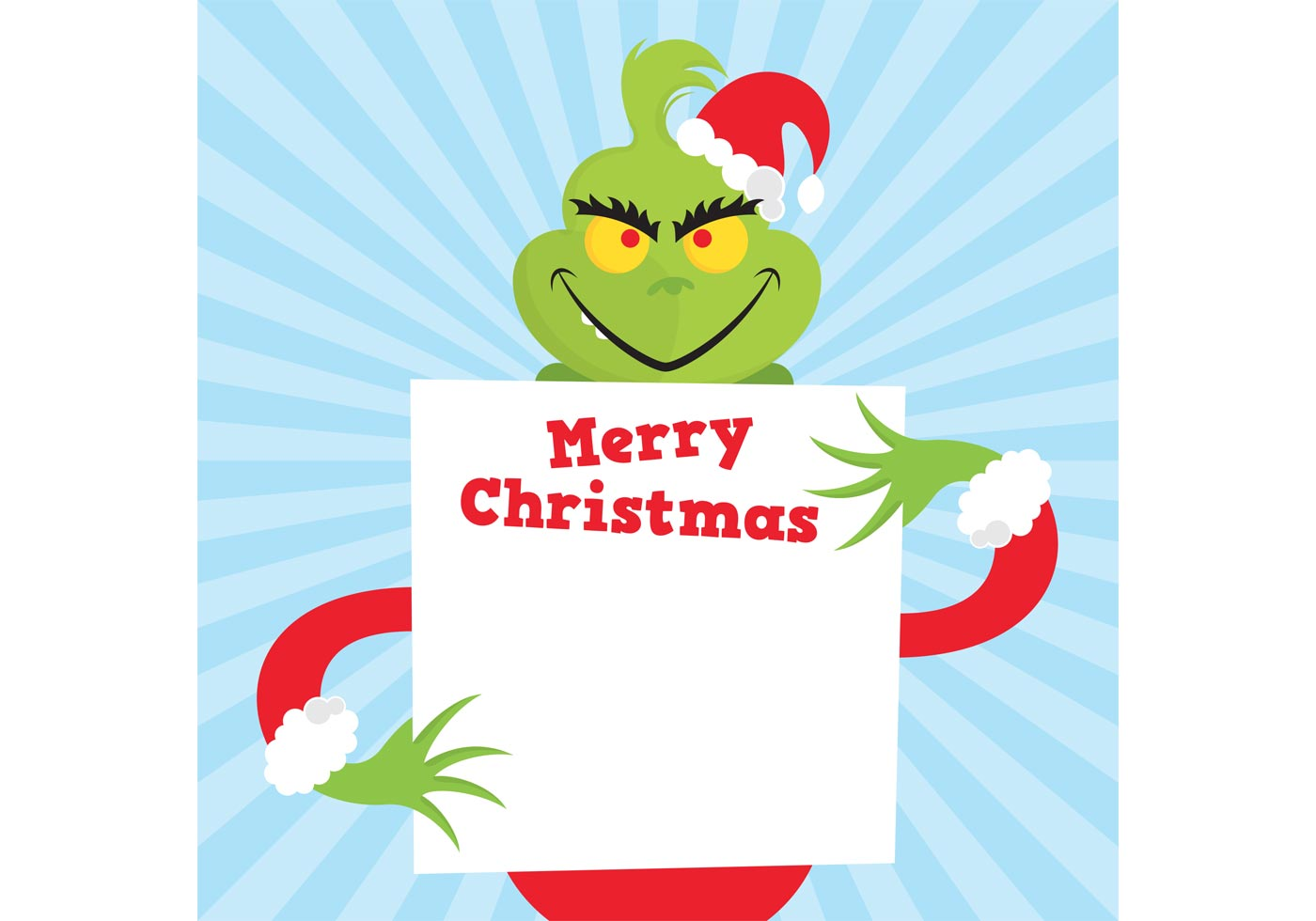 1400x980 The Grinch Vector Face