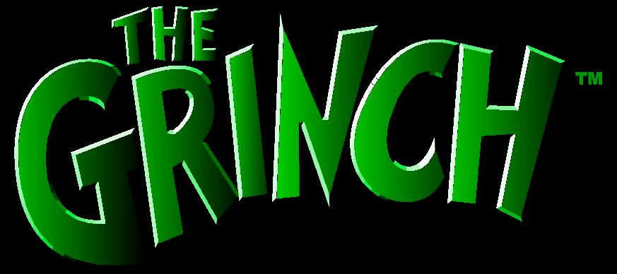 873x388 The Grinch Logo, Free Vector Logos