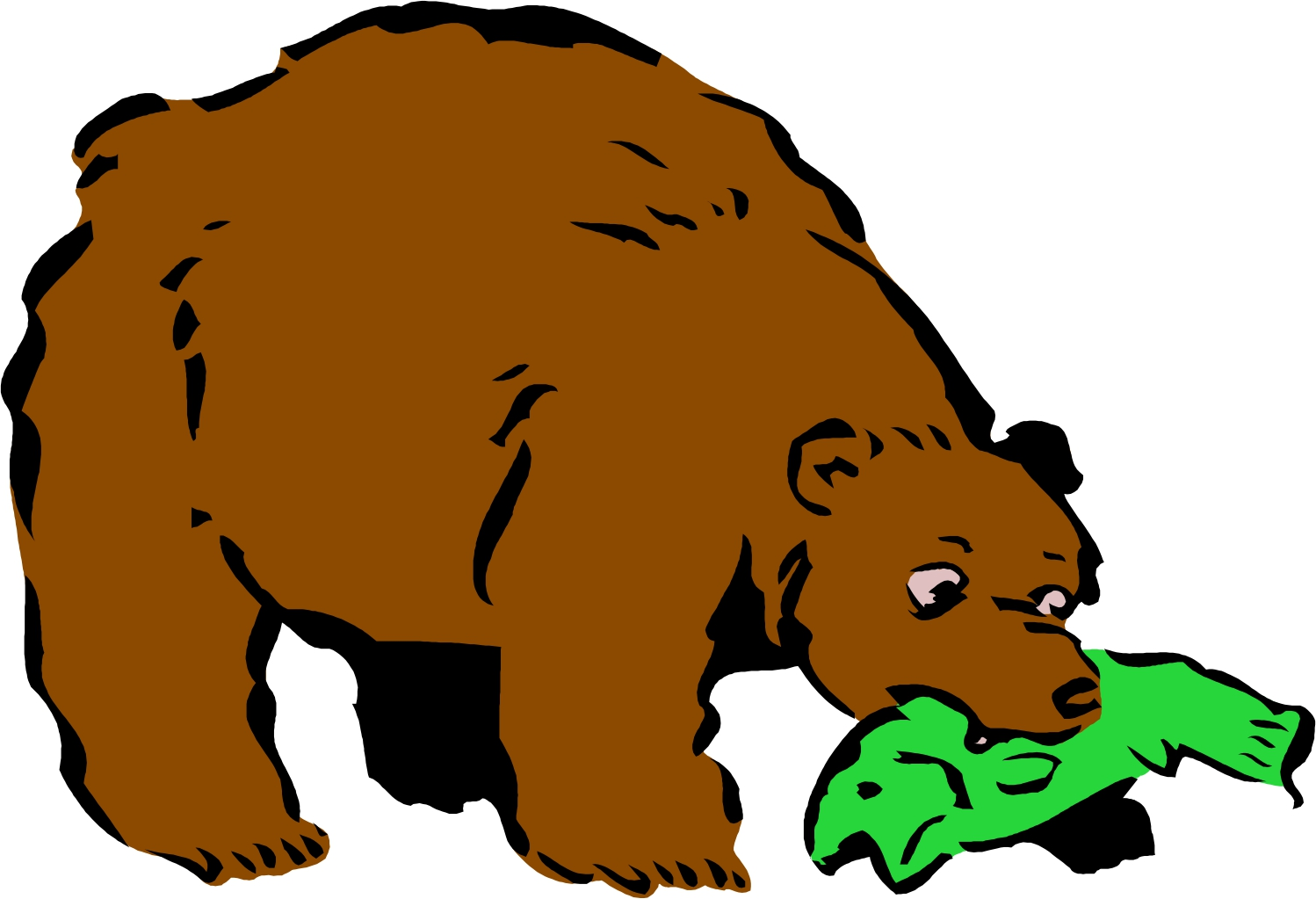 1498x1023 Grizzly Bear Silvertip Bear Clipart Graphics Free Clip Art