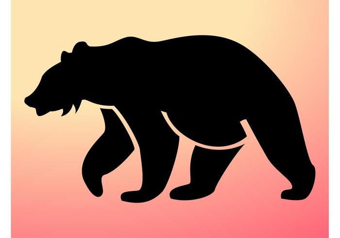 700x490 Bear Silhouette