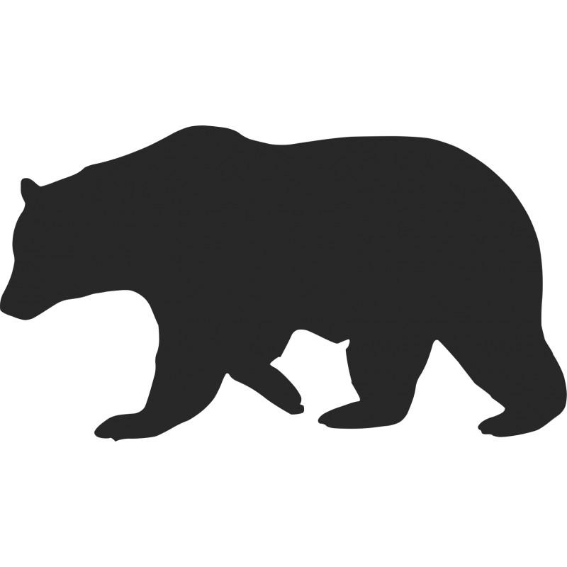 800x800 Bear Silhouette