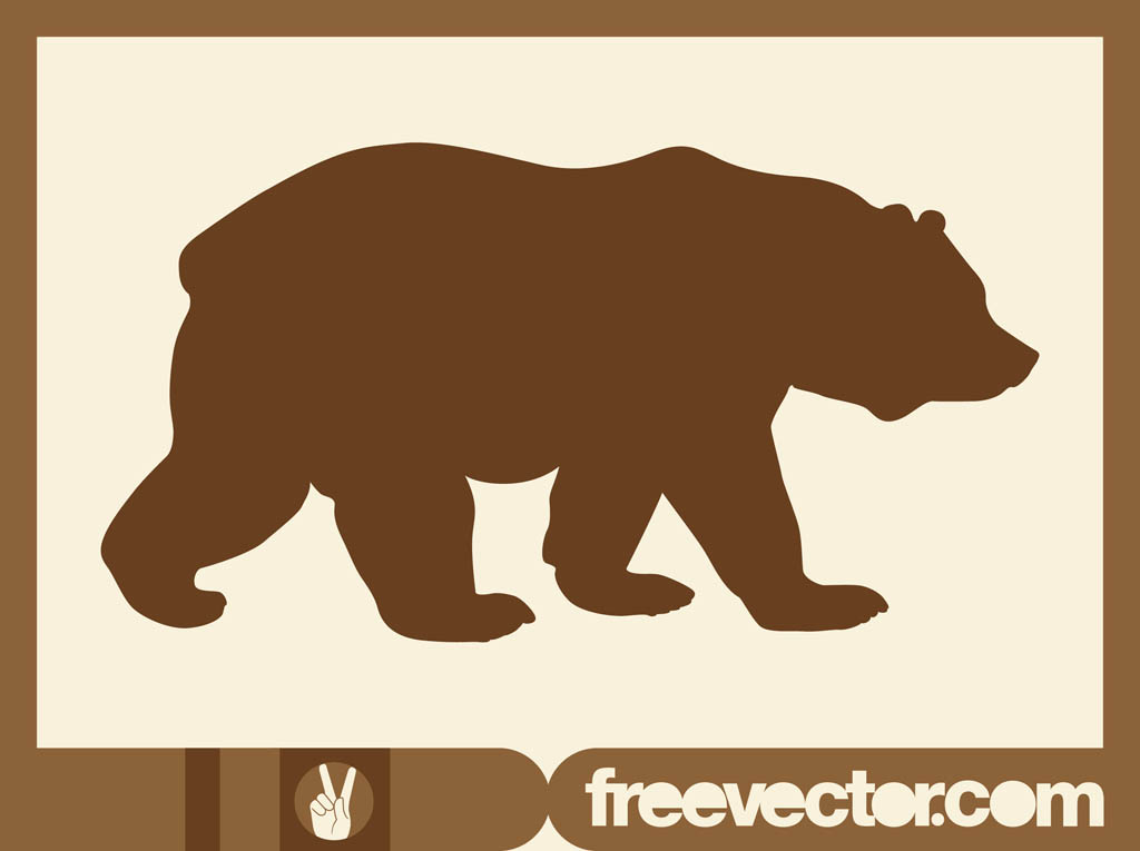 1024x765 Patterns For Clipart Bear Silhouette