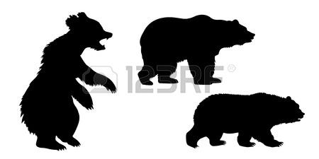 450x225 Bear Head Tattoo Vector Royalty Free Cliparts, Vectors, And Stock