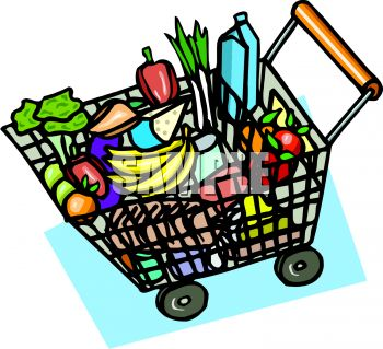 350x319 Places Clipart Grocery Shop