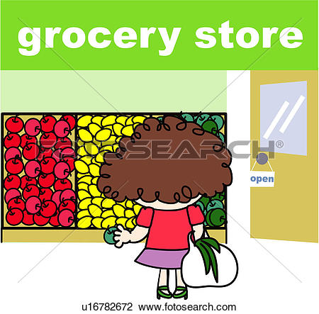 450x443 Shop Clipart Grocery Store