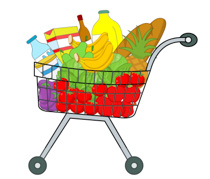 210x179 Bag Clipart Grocery Store