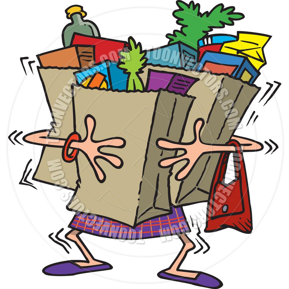 940x940 Grocery Bag Clip Art
