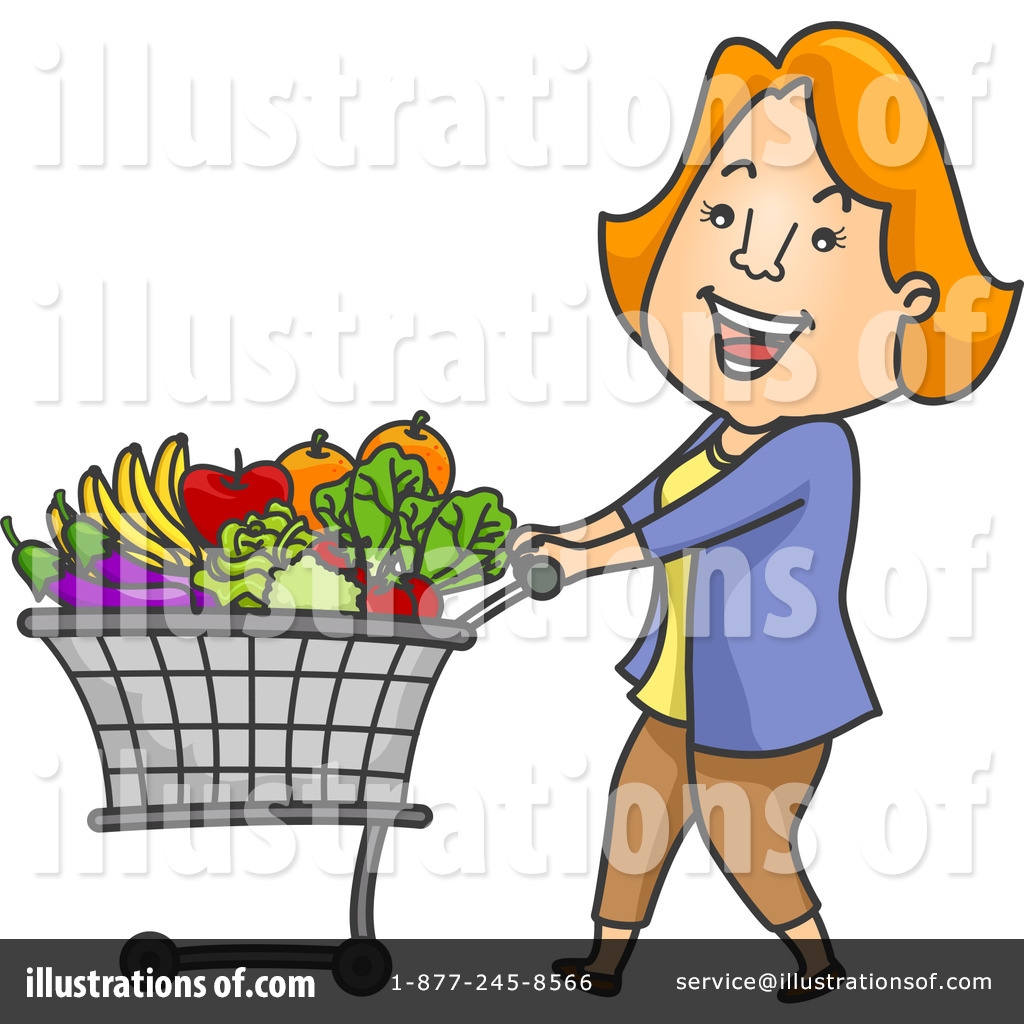 1024x1024 Grocery Shopping Clipart