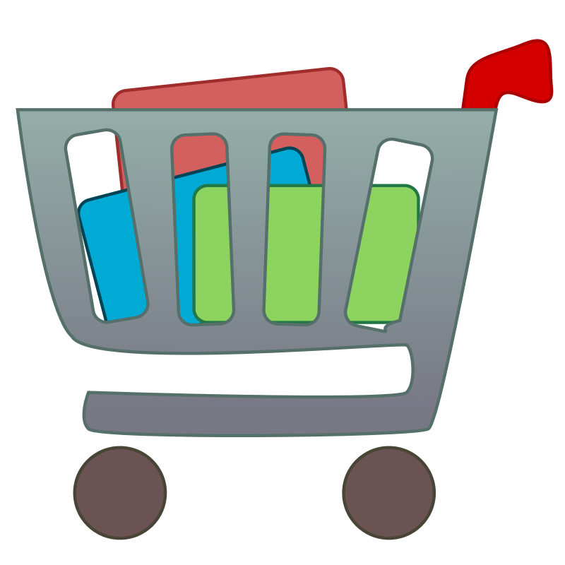 800x800 Grocery Shopping Clipart Free Download Clip Art