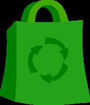 180x209 Grocery Bag Clip Art, Vector Grocery Bag