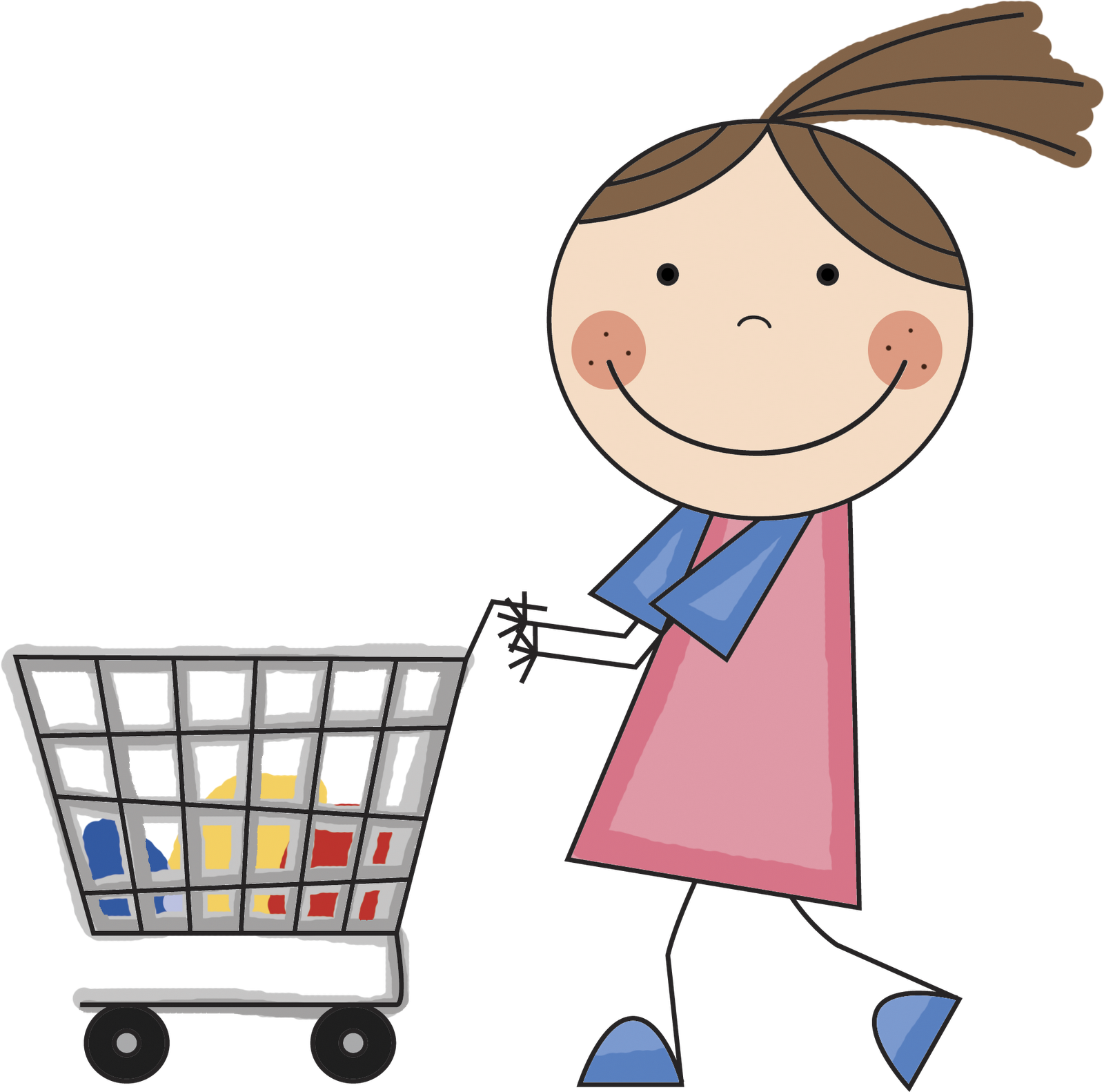 1600x1582 Grocery Clipart
