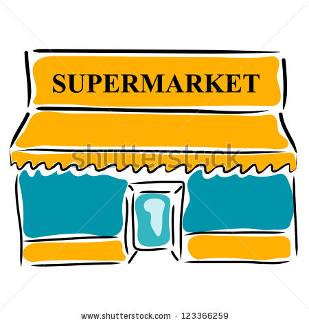 450x470 Grocery Store Clipart Group
