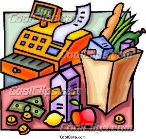 300x285 Pl Clipart Grocery Shop