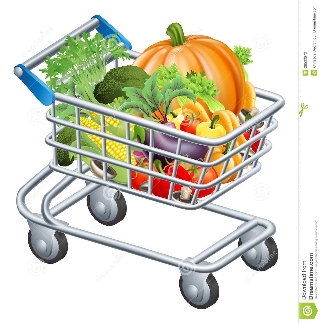 1289x1300 Trolley Clipart Supermarket Trolley