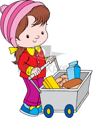 314x400 Grocery Clipart