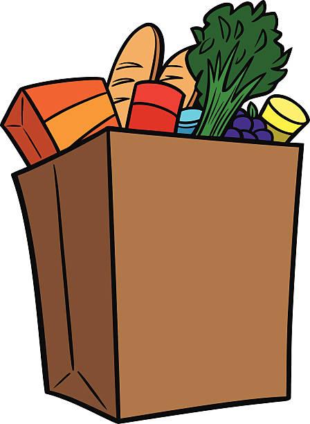 448x612 Bag Clipart Supermarket Shopping
