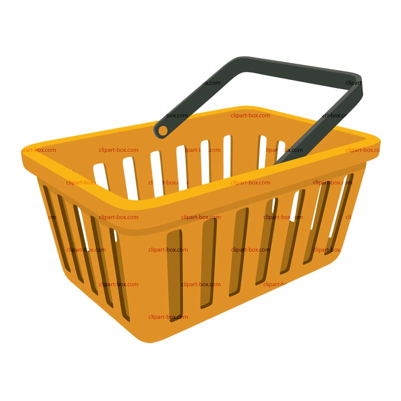 800x800 Basket Clipart Grocery Basket