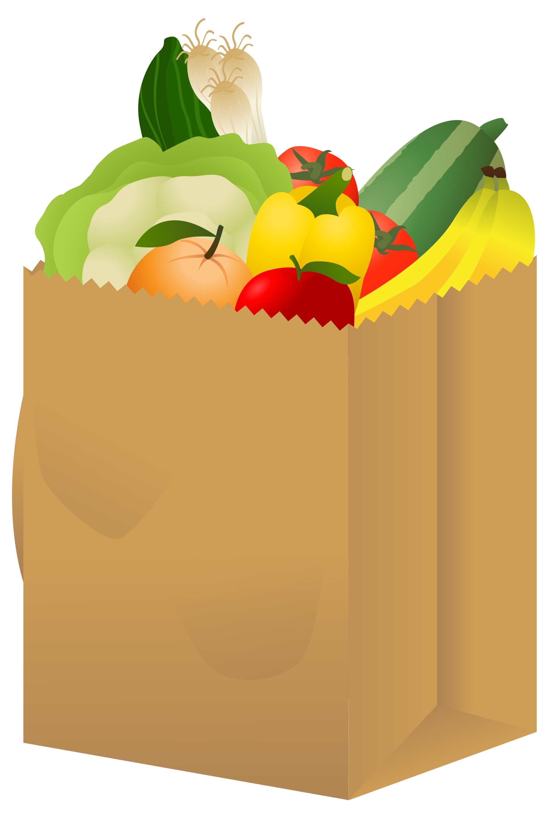 1875x2795 Groceries Clipart