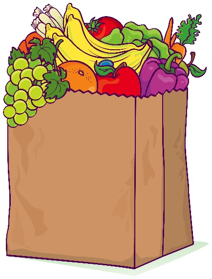 434x572 Grocery Store Clipart