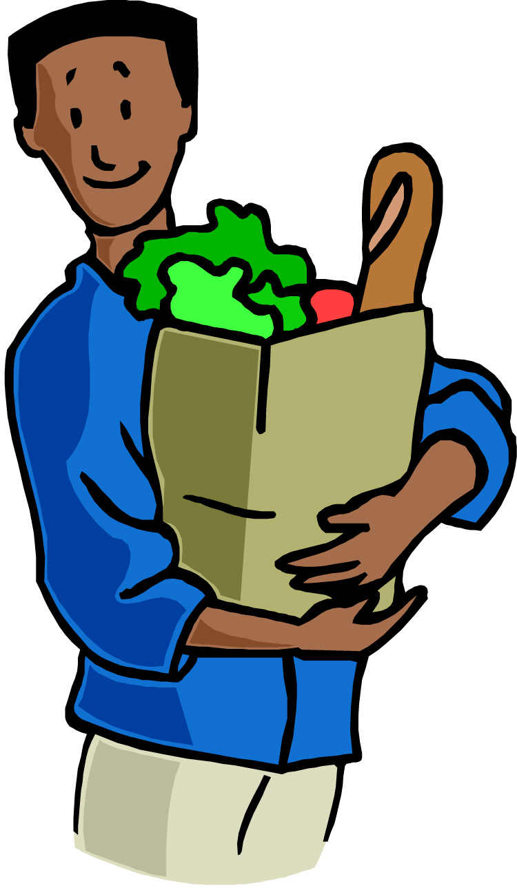 750x1292 Grocery Store Clipart