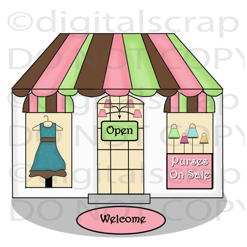 800x800 Shop Clipart Clothing Store
