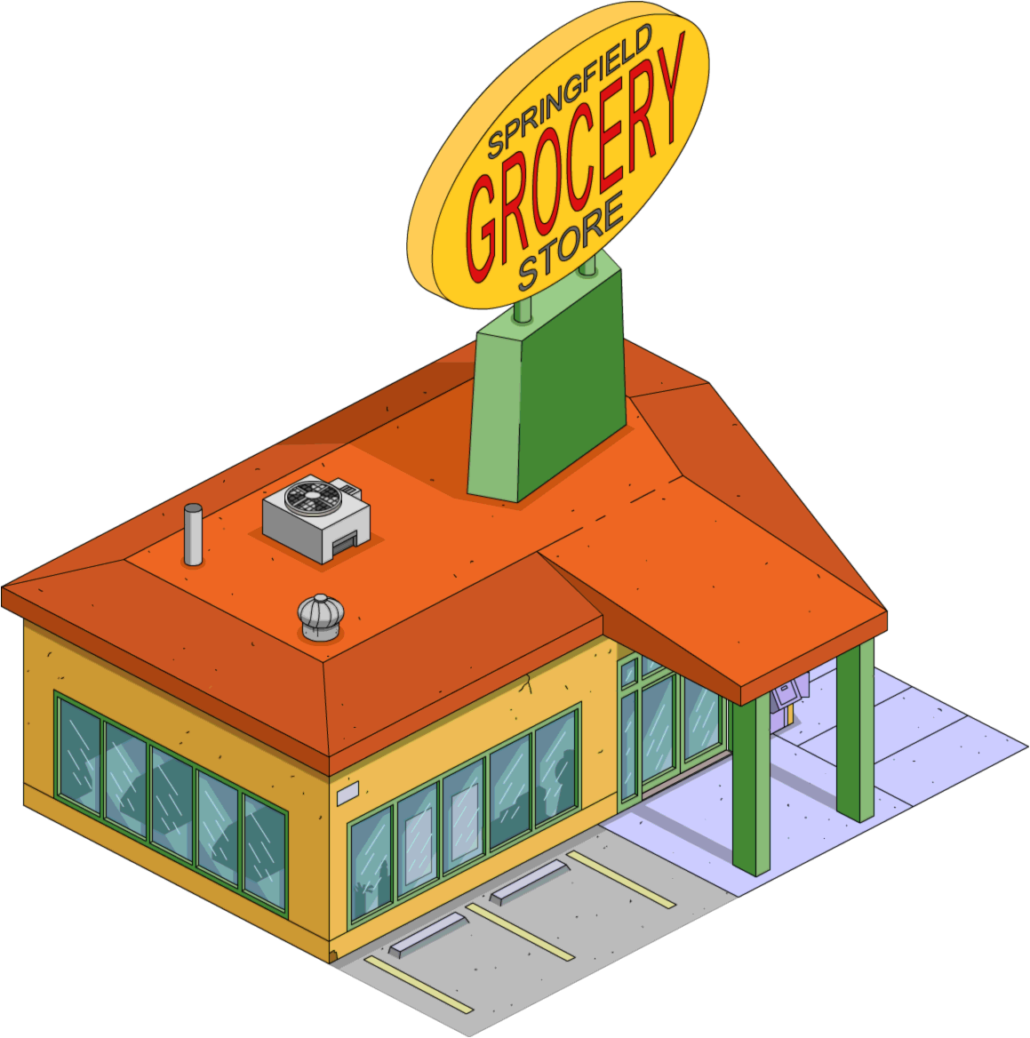 1159x1168 Springfield Grocery Store The Simpsons Tapped Out Wiki Fandom