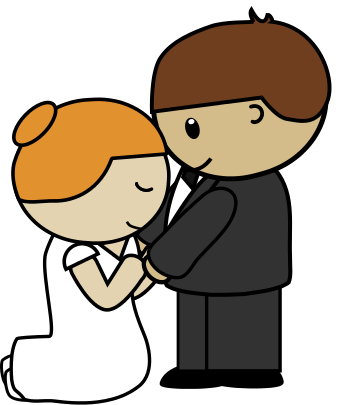 343x405 Bride And Groom Clipart 0 Bride Clip Art Free Image