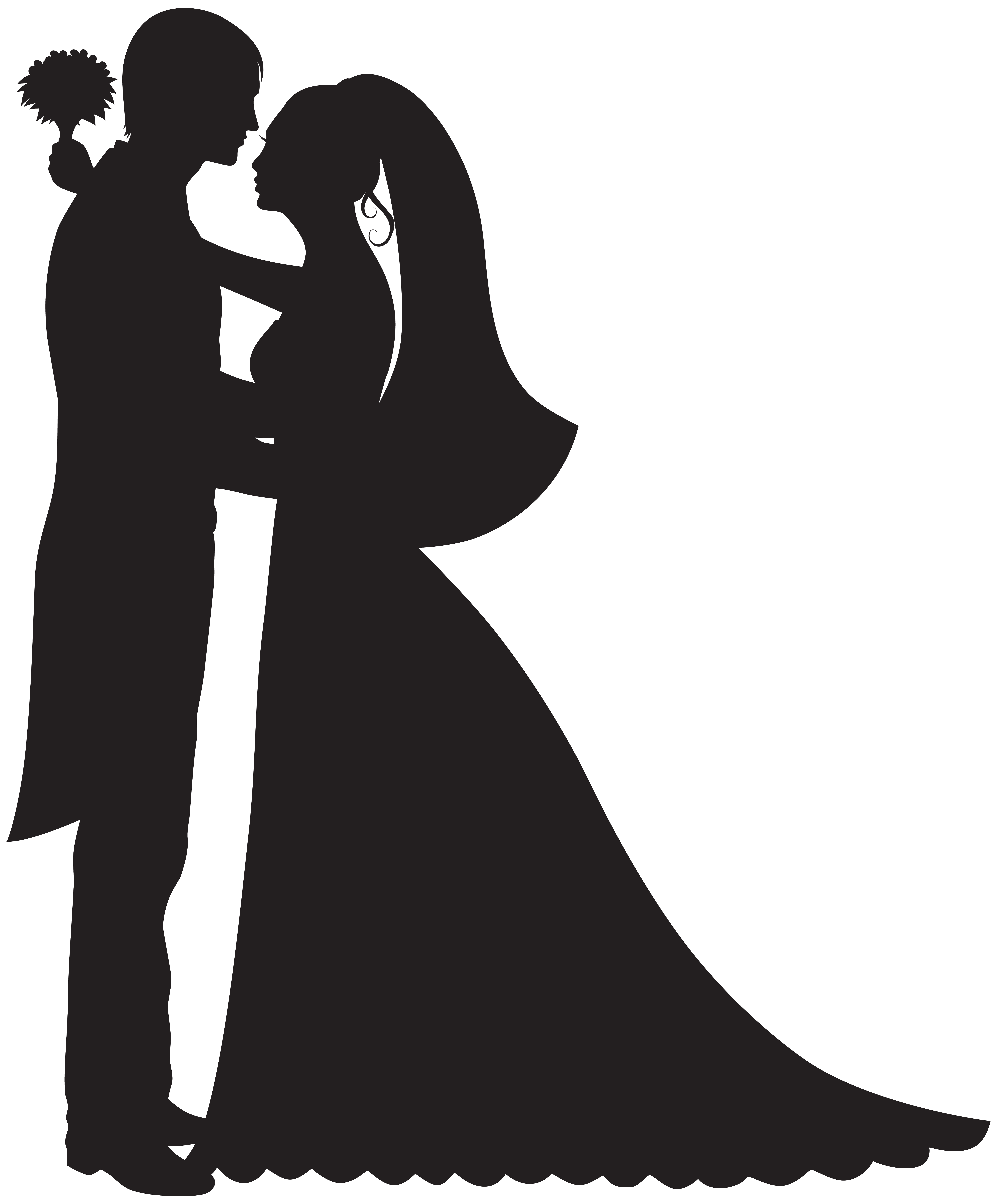 6623x8000 Groom And Bride Png Clip Art